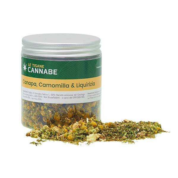 Hemp, Chamomile and Liquorice Herbal Mix