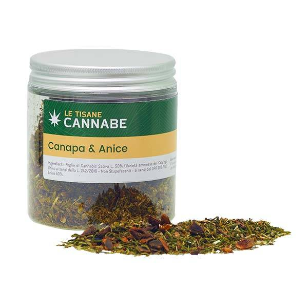 Hemp and Anise Herbal Mix