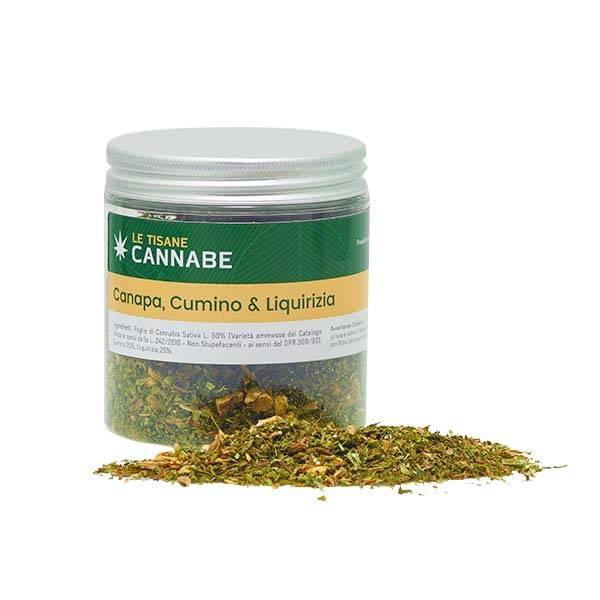 Cumin and Liquorice Herbal Mix
