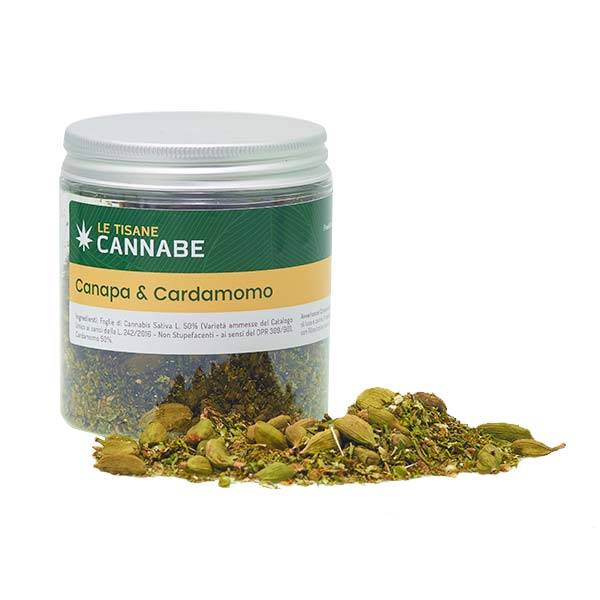 Hemp and Cardamom Herbal Mix
