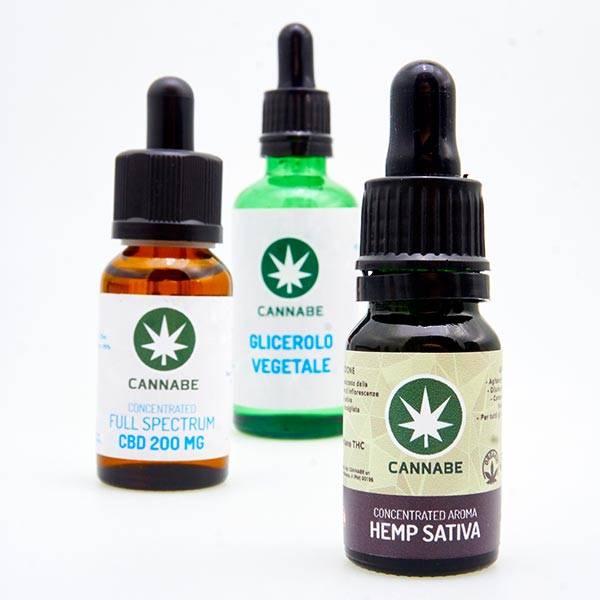 Hemp Sativa e-liquid Kit